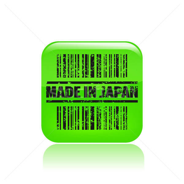 Made in Japan icon  Stock photo © Myvector