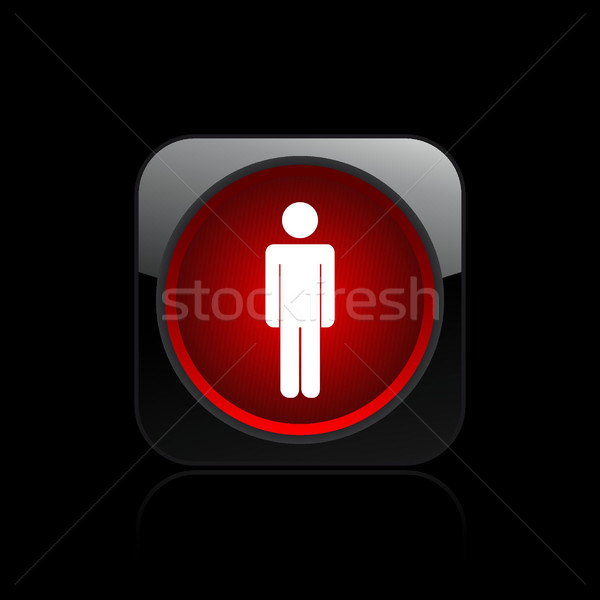 Pedestrian traffic light icon  Stock photo © Myvector