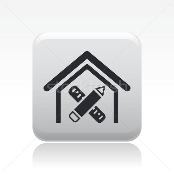 Home design icon  Stock photo © Myvector