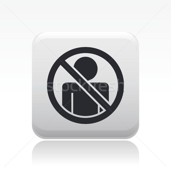 Access forbidden icon Stock photo © Myvector