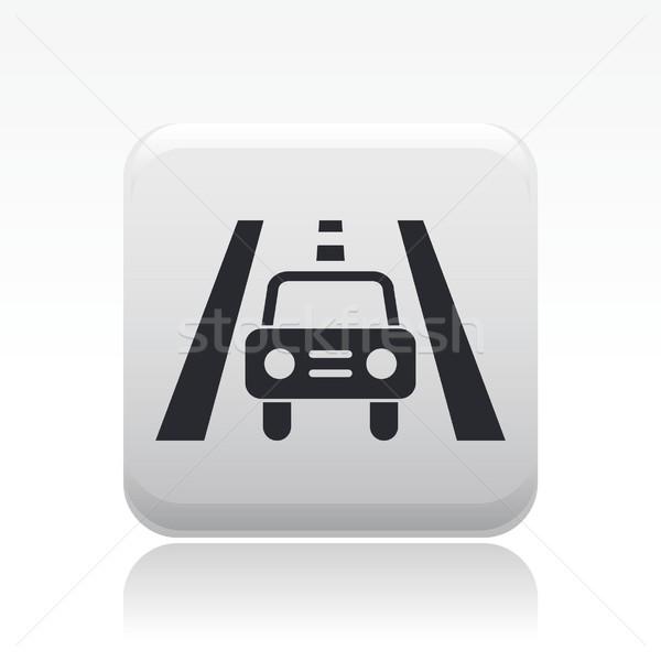 Road car icon Stock photo © Myvector