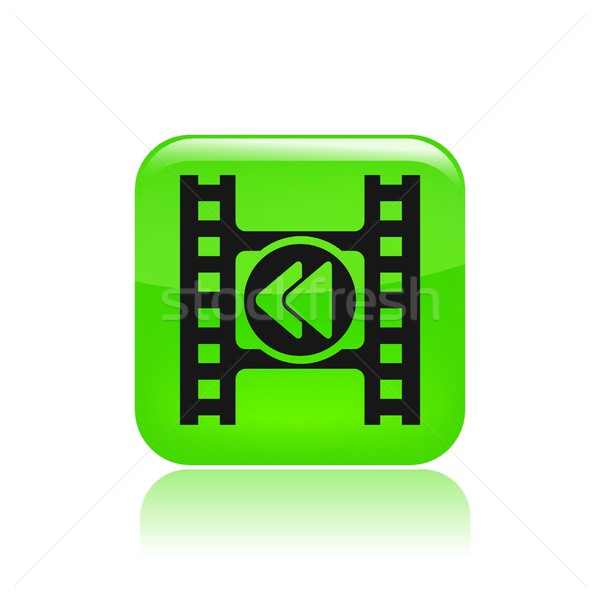 Rewind icon Stock photo © Myvector