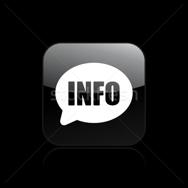 Info icon Stock photo © Myvector