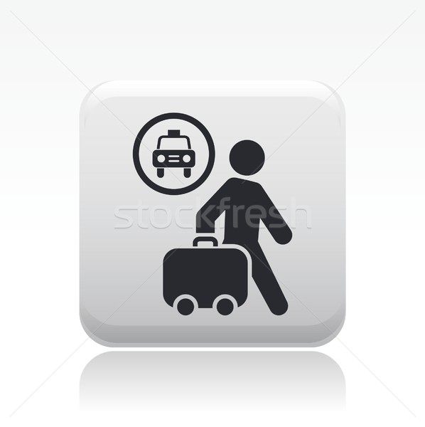 Taxi travel icon Stock photo © Myvector