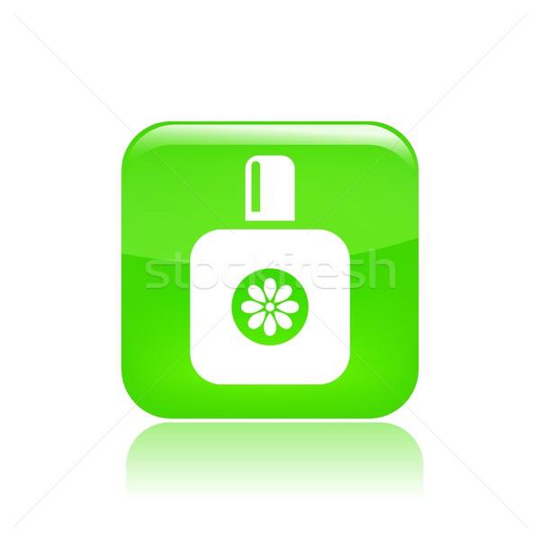 Icon parfum cosmetische vector Stockfoto © Myvector