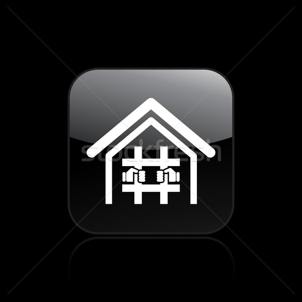 Prison icon Stock photo © Myvector