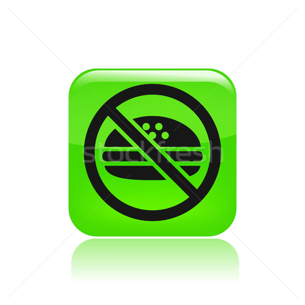 No food icon  Stock photo © Myvector