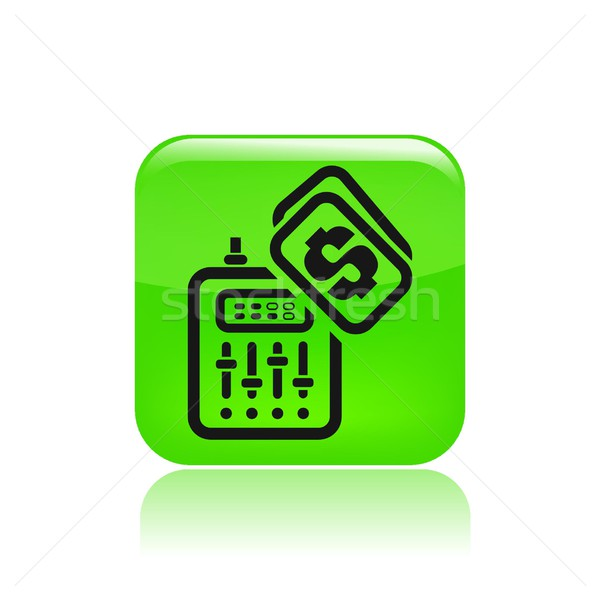 Dj price icon Stock photo © Myvector