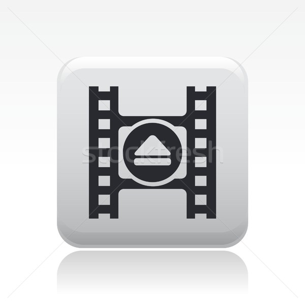 Eject video icon Stock photo © Myvector