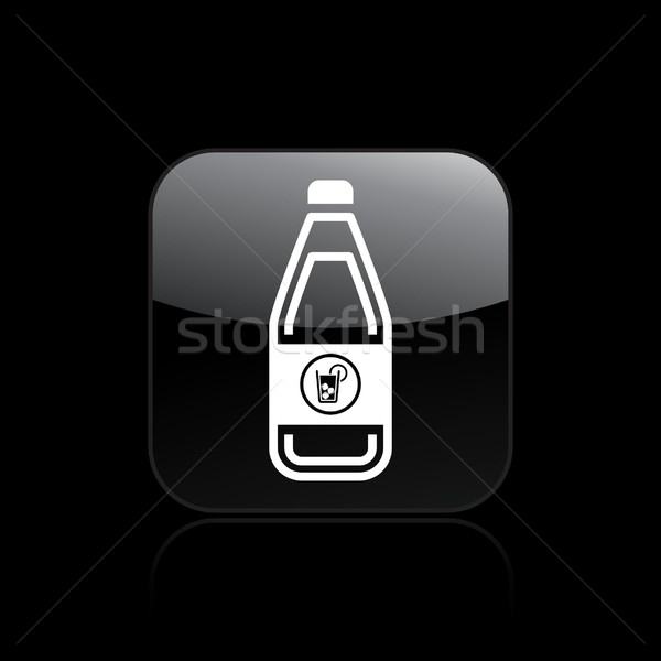 Drinken fles icon bar Stockfoto © Myvector