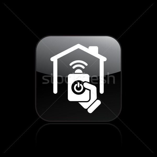Home remote icon Stock photo © Myvector