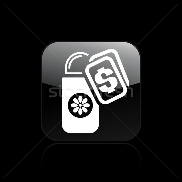 Deodorant buy icon Stock photo © Myvector