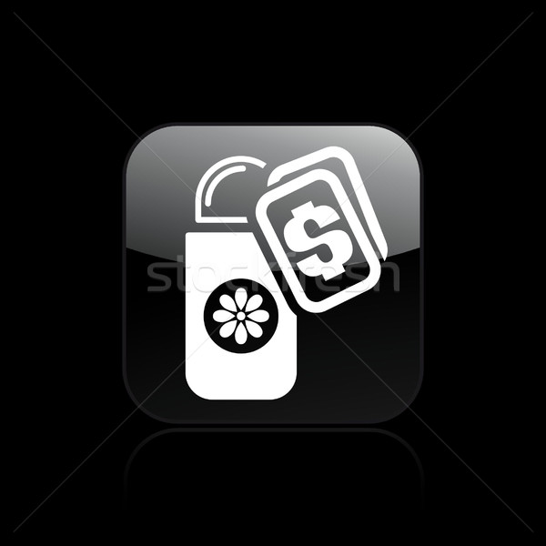 Desodorante comprar ícone dinheiro Foto stock © Myvector