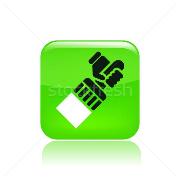 художника икона краской Живопись очистки Сток-фото © Myvector