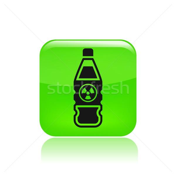 Bottle icon Stock photo © Myvector
