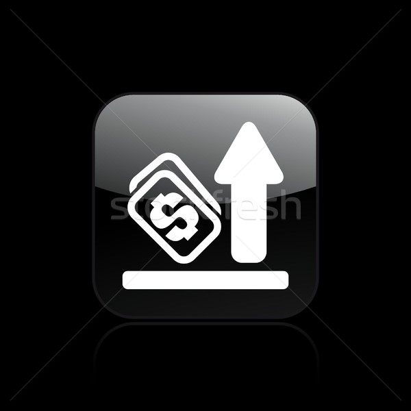 Earning increase icon Stock photo © Myvector
