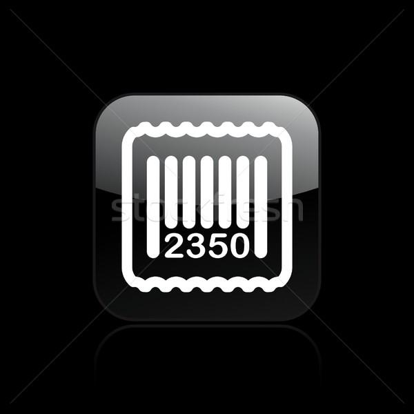 Barcode icon Stock photo © Myvector