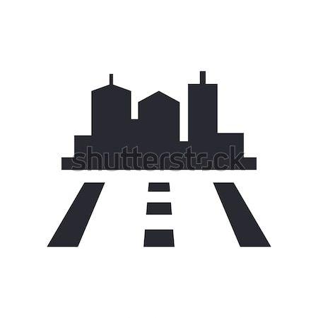Road icon Stock photo © Myvector