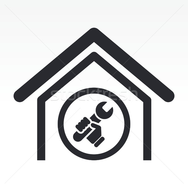 Home bricolage icon Stock photo © Myvector