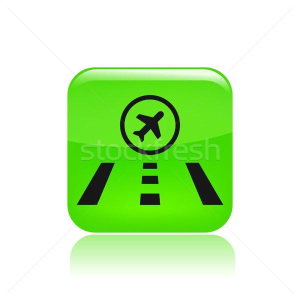 Airport icon Stock photo © Myvector