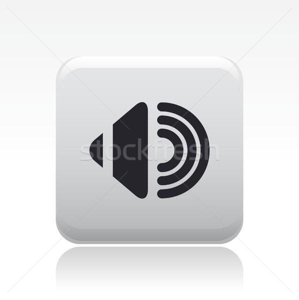 Áudio ícone música estéreo conceito Foto stock © Myvector