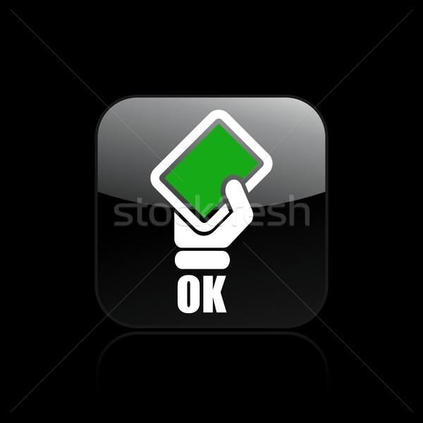 Ok icon Stock photo © Myvector