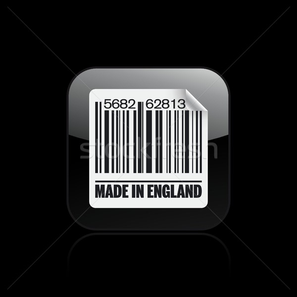 England barcode icon Stock photo © Myvector