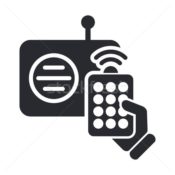 Radio remote icon Stock photo © Myvector