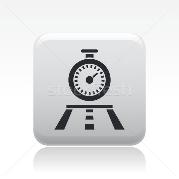Chronometer race icon Stock photo © Myvector