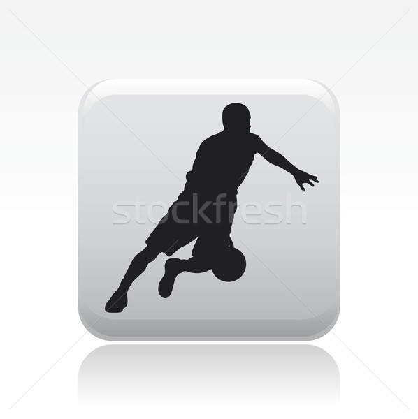 Stockfoto: Icon · sport · team · silhouet