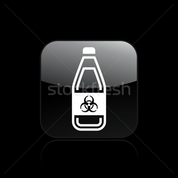 Dangerous bottle icon Stock photo © Myvector