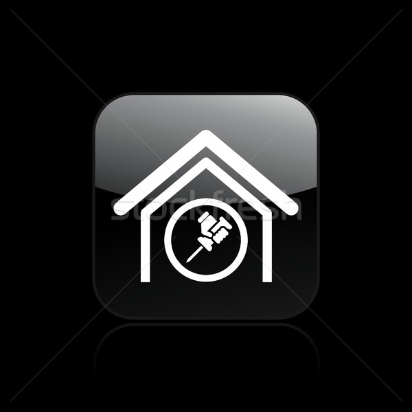 Home repair icon Stock photo © Myvector