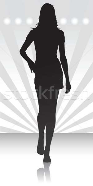 Fashion parade icon  Stock photo © Myvector