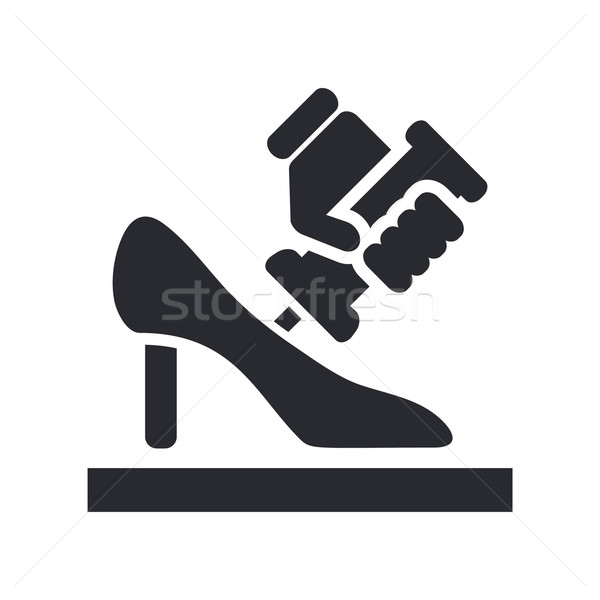 Shoe manufacturing Stock photo © Myvector