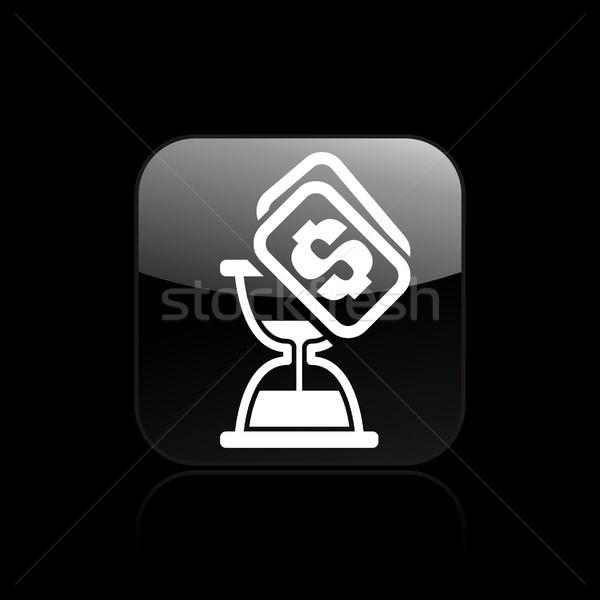 Temps coût icône Photo stock © Myvector