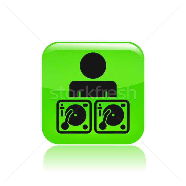 Dj icon  Stock photo © Myvector