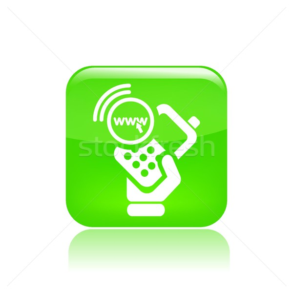Smartphone icon Stock photo © Myvector