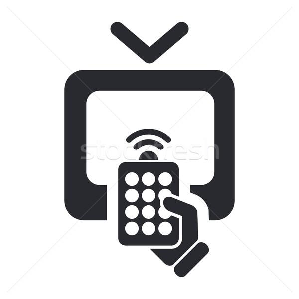 Remote tv icon Stock photo © Myvector
