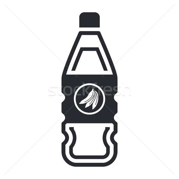 Icono botella jugo de fruta Foto stock © Myvector