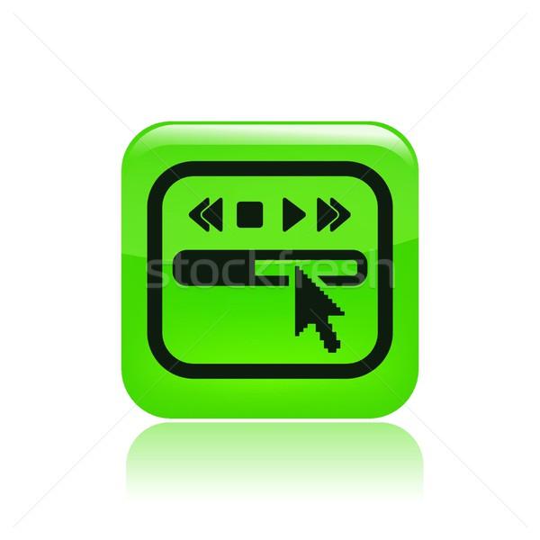 Player icon Stock photo © Myvector