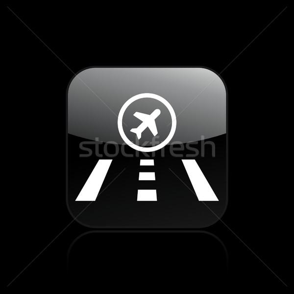 Сток-фото: аэропорту · икона · дороги · улице · самолет · лет