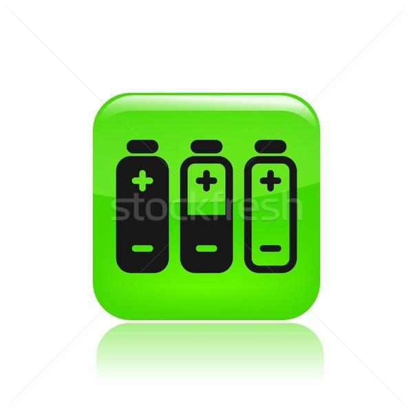 Battery icon Stock photo © Myvector