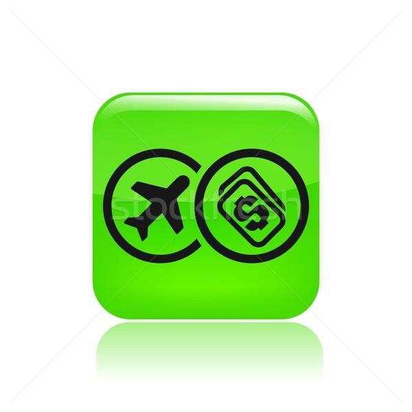 Fly price icon Stock photo © Myvector