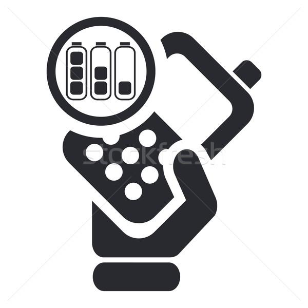 Phone icon Stock photo © Myvector