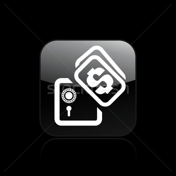 Safety box icon Stock photo © Myvector