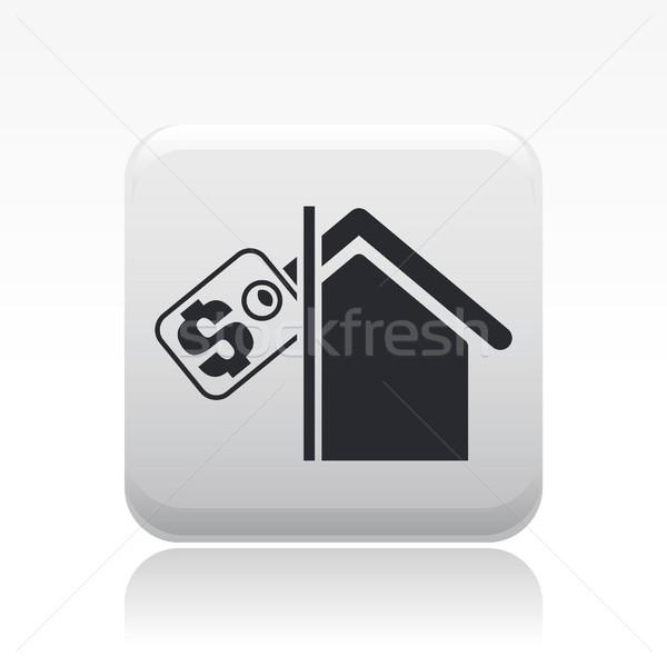 Immobiliari icona casa vendite vendita concetto Foto d'archivio © Myvector
