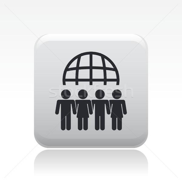Meeting icon  Stock photo © Myvector