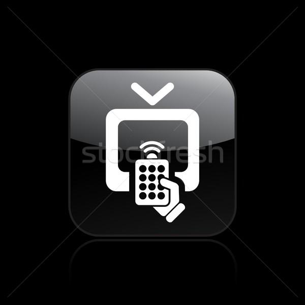 Tv remote icon Stock photo © Myvector