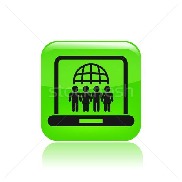 Social web icon Stock photo © Myvector