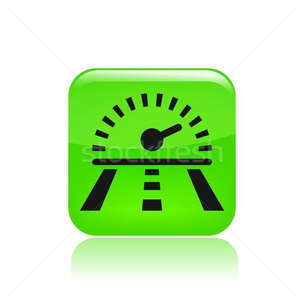 Speed road icon Stock photo © Myvector